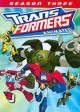Cover for Transformers animated. Season 3