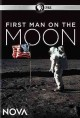 Cover for First man on the moon