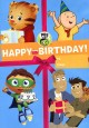 Cover for PBS Kids. Happy Birthday!.