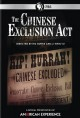 Cover for The Chinese Exclusion Act