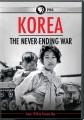 Cover for Korea: the never ending war