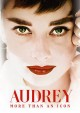 Cover for Audrey: more than an icon