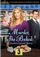 Cover for Murder, she baked: a chocolate chip cookie mystery
