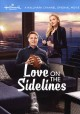 Cover for Love on the sidelines