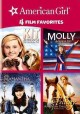 Cover for American Girl: 4 film favorites