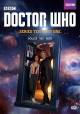 Cover for Doctor Who. Series ten, part one.
