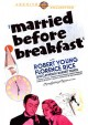 Cover for Married Before Breakfast