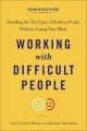 Cover for Working with difficult people