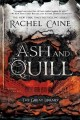 Cover for Ash and quill