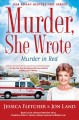 Cover for Murder in red: a Murder, she wrote mystery: a novel