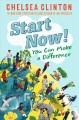 Cover for Start now!: you can make a difference