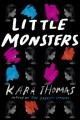 Cover for Little monsters