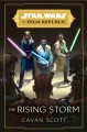 Cover for The rising storm