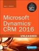 Cover for Microsoft Dynamics CRM 2016 Unleashed