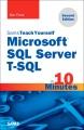 Cover for Microsoft SQL Server T-SQL in 10 minutes
