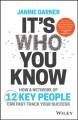 Cover for It's Who You Know: How a Network of 12 Key People Can Fast-track Your Succe...