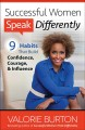 Cover for Successful women speak differently