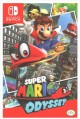 Cover for Super Mario odyssey