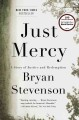 Cover for Just Mercy: a story of justice and redemption