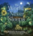 Cover for The world never sleeps