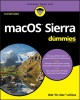 Cover for MacOS Sierra for dummies