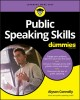 Cover for Public Speaking Skills for Dummies