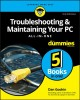 Cover for Troubleshooting & Maintaining Your PC All-in-one for Dummies