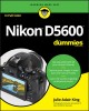 Cover for Nikon D5600 for Dummies