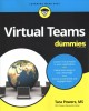 Cover for Virtual teams for dummies