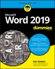 Cover for Word 2019 for dummies