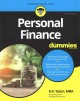 Cover for Personal finance for dummies