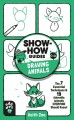 Cover for Drawing animals! / The 7 Essential Techniques & 19 Adorable Animals Everyon...
