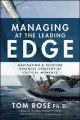 Cover for Managing at the Leading Edge: Navigating and Piloting Business Strategy at ...