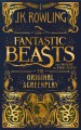 Cover for Fantastic beasts and where to find them: the original screenplay