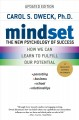 Cover for Mindset: the new psychology of success