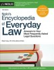 Cover for Nolo's encyclopedia of everyday law: answers to your most frequently asked ...