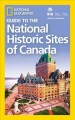 Cover for Guide to the national historic sites of Canada.
