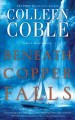 Cover for Beneath copper falls [Large Print]