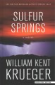 Cover for Sulfur springs [Large Print]