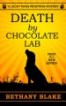 Cover for Death by chocolate lab [Large Print]