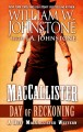 Cover for Maccallister: day of reckoning [Large Print]