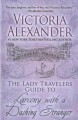 Cover for The lady travelers guide to larceny with a dashing stranger [Large Print]
