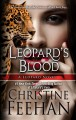 Cover for Leopard's blood [Large Print]