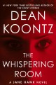 Cover for The whispering room [Large Print]