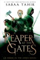Cover for A reaper at the gates [Large Print]