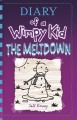 Cover for Diary of a wimpy kid: the meltdown [Large Print]