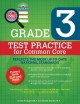Cover for Core focus grade 3: test practice for common core