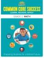 Cover for Barron's Common Core success. Grade 2: Math