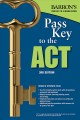 Cover for Barron's pass key to the ACT