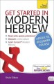 Cover for Get started in modern Hebrew